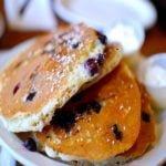 Pancake aux myrtilles pour 6 personnes