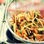 Wok de poulet aux germes de soja pour 4 personnes