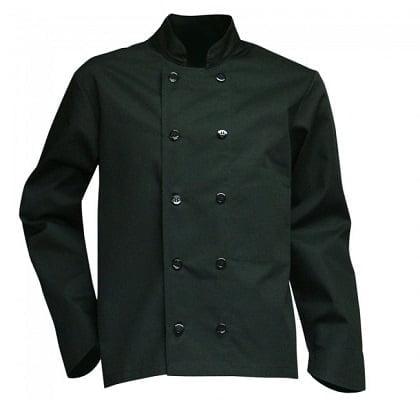 Veste de cuisine noire